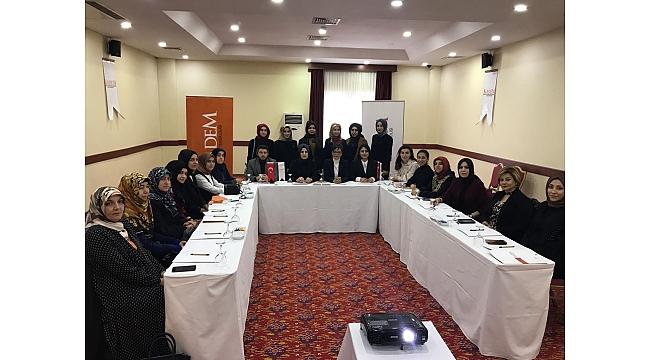 KADEM Doğu Anadolu Bölgesi Koordinasyon Toplantısı  Gerçekleştirildi