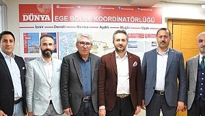 BAŞKAN ARSLAN, ALİ EKBER YILDIRIM İLE BİR ARAYA GELDİ.